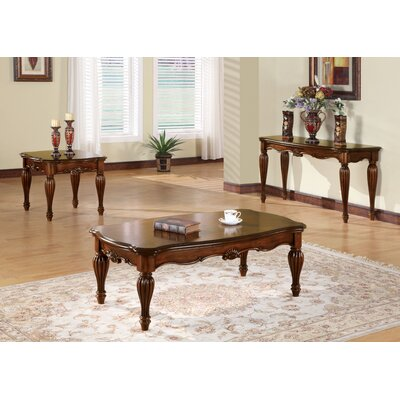 Welsh 3 Piece Coffee Table Set