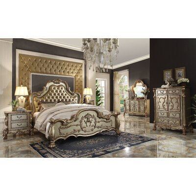 Welliver Wood Panel Configurable Bedroom Set