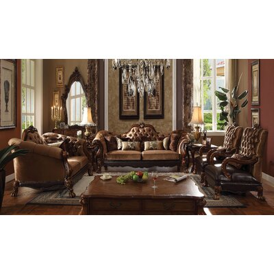 Welliver Traditional 2 Piece Coffee Table Set