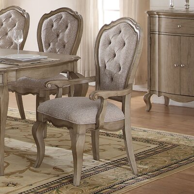 Donatella Traditional Upholstered Dining Chair