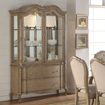 Donatella Lighted China Cabinet