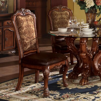 Welliver Traditional Upholstered Dining Chair