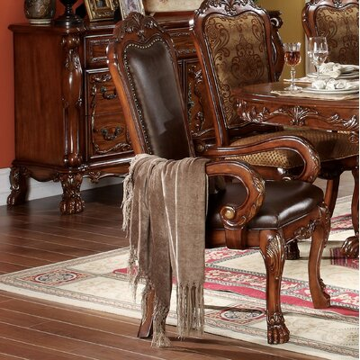 Welliver Carved Upholstered Dining Chair