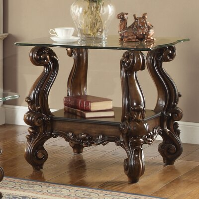 Welton Traditional End Table Color: Cherry Oak