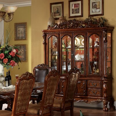 Welliver China Cabinet Color: Cherry Oak