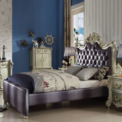 Welty Upholstered Panel Bed Size: Queen