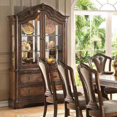 Crispin Lighted China Cabinet