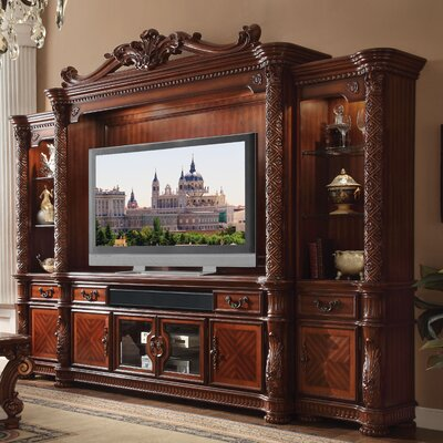 Welty Entertainment Center Color: Cherry