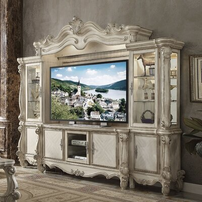 Welton Entertainment Center Color: Bone White