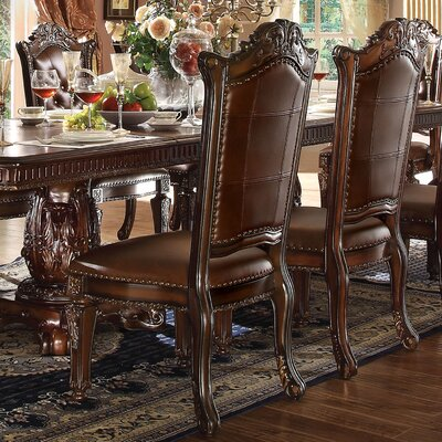 Welles Scroll Upholstered Dining Chair