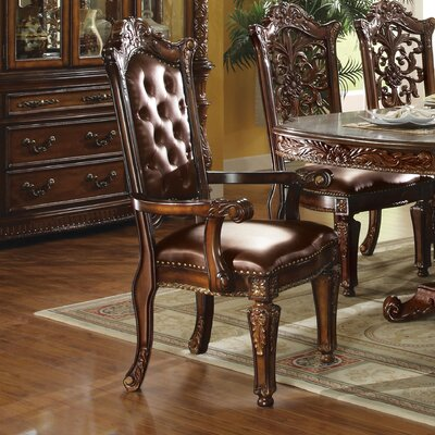 Welles Button Tufted Upholstered Dining Chair