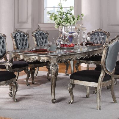 Chantelle Extendable Dining Table Size: 30 H x 44 L x 96 W