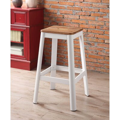 Mee 30 Bar Stool Color: White