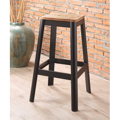 Mee 30 Bar Stool Color: Black