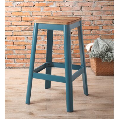 Mee 30 Bar Stool Color: Teal