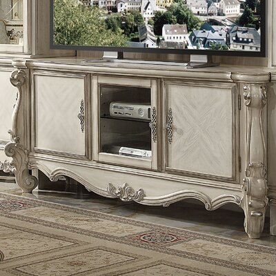 Welton TV Stand Color: Bone White