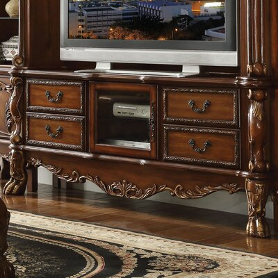 Welliver 79 TV Stand Finish: Cherry Oak