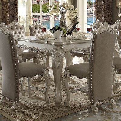 Welton Counter Height Dining Table Color: Bone White
