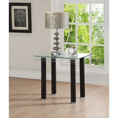 Len End Table Base Color: Black