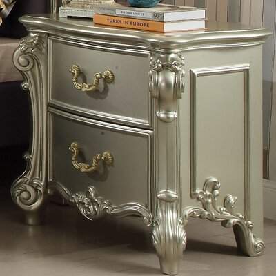 Welty 2 Drawer Nightstand