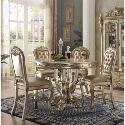 Welliver 5 Piece Counter Height Dining Set