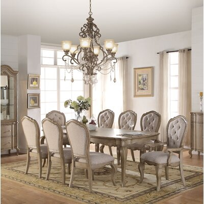 Donatella 9 Piece Extendable Dining Set