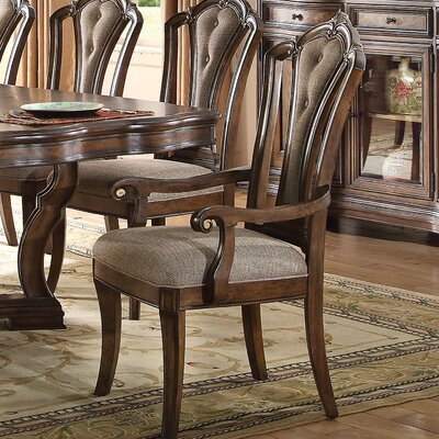 Crispin Traditional Upholstered Dining Chair