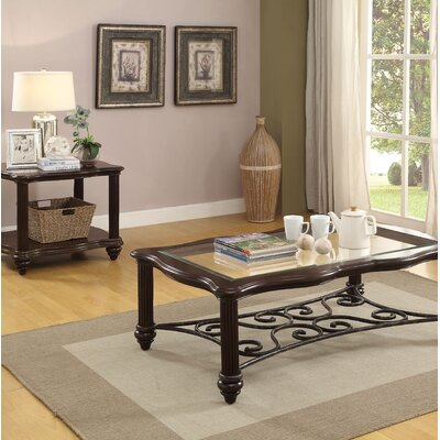 Wentzel 2 Piece Coffee Table Set