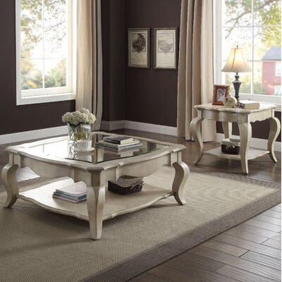 Donatella 2 Piece Coffee Table Set
