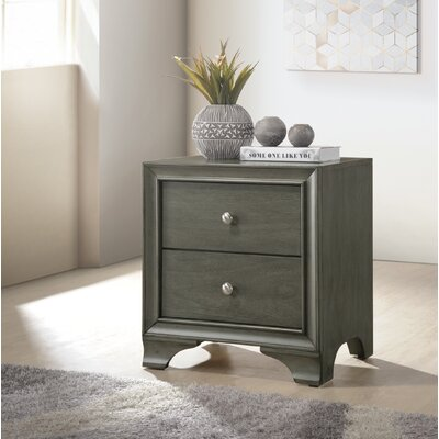 Kempton 2 Drawer Nightstand