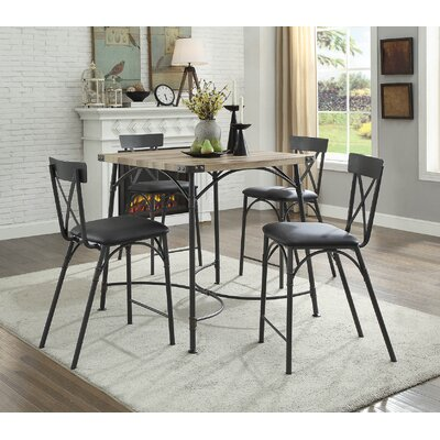Christofor Counter Height 5 Piece Dining Set
