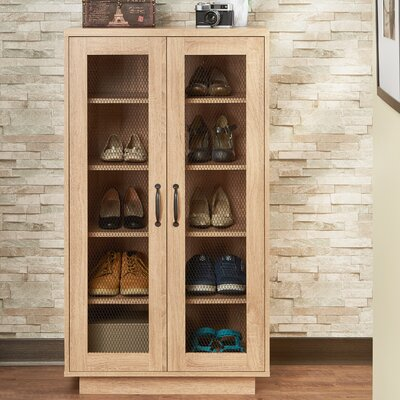 10 Pair Shoe Storage Cabinet