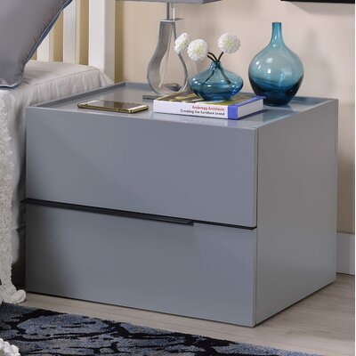 Valley Forge 2 Drawer Nightstand