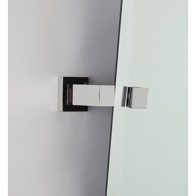 Contemporary II Mirror Bracket Finish: Polished Chrome