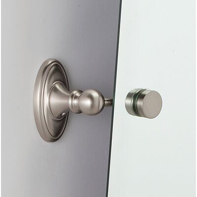 Classic Traditional Mirror Bracket Finish: Satin Nickel