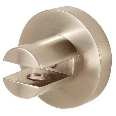Contemporary I Shelf Brackets Only Finish: Satin Nickel