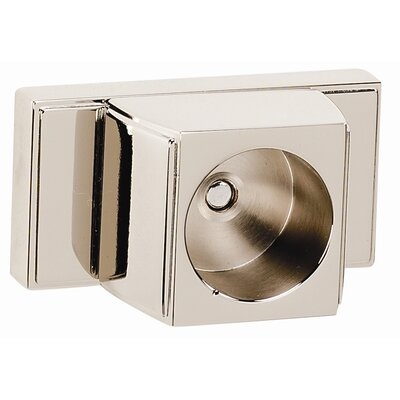 Arch Shower Rod Brackets Only Finish: Satin Nickel