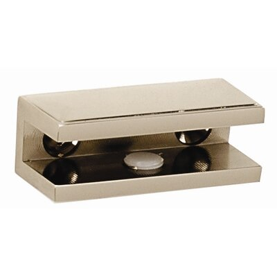 Arch Shelf Brackets Only Finish: Polished Nickel