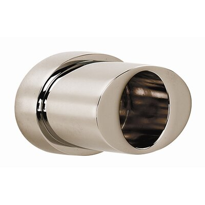 Contemporary III Shower Rod Brackets Only Finish: Polished Nickel