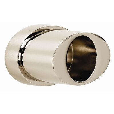 Contemporary III Shower Rod Brackets Only Finish: Satin Nickel