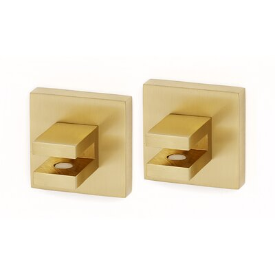Contemporary II Shelf Brackets Only Finish: Satin Brass