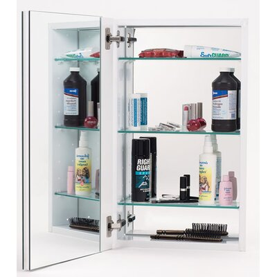 15 x 25 Recessed Medicine Cabinet Finish: White