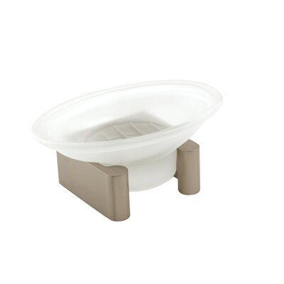 Luna Counter Top Soap Dish Finish: Satin Nickel A6835-SN