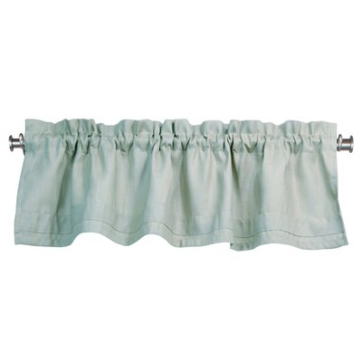 "Chooty & Co Circa Solid Rod Pocket Tailored 54"" Curtain Valance - Color: Aqua Marine at Sears.com"
