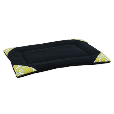 "Fleece Single Channel Padded Pet Mat Size: 25"" L x 17"" W"
