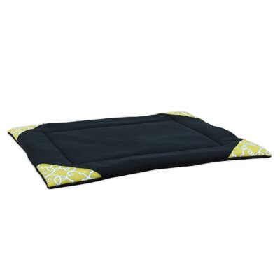 "Fleece Single Channel Padded Pet Mat Size: 41"" L x 34"" W"