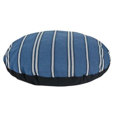 "Rafting Pearl 36"" Round Pet Bed Color: Ocean"