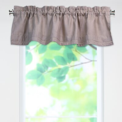 "Chooty & Co Circa Solid Rod Pocket Tailored 54"" Curtain Valance - Color: Smokey Amethyst at Sears.com"