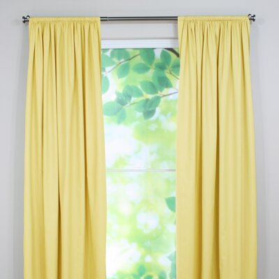 Chooty co cp954 duck rod pocket curtain panel curtains for What is the best window brand