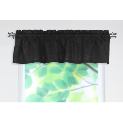 "Chooty & Co Circa Solid Rod Pocket Tailored 54"" Curtain Valance - Color: Night at Sears.com"